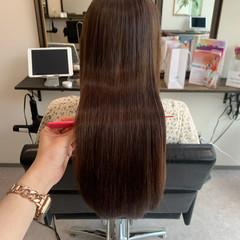 ナチュラル 髪質改善トリートメント ロングヘア ロング ヘアスタイルや髪型の写真・画像