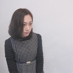 フェミニン 暗髪 ガーリー 黒髪 ヘアスタイルや髪型の写真・画像