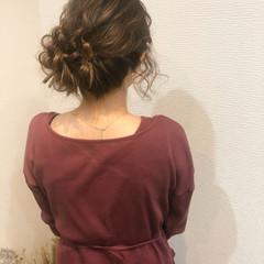 アップ アップスタイル ヘアセット フェミニン ヘアスタイルや髪型の写真・画像