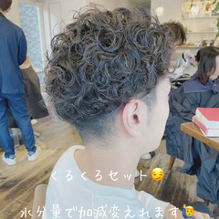 メンズカット メンズ ナチュラル メンズショート ヘアスタイルや髪型の写真・画像