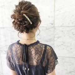 二次会 ヘアアレンジ 結婚式 成人式 ヘアスタイルや髪型の写真・画像