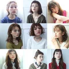 ガーリー 外国人風 ロング ゆるふわ ヘアスタイルや髪型の写真・画像