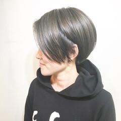 ストリート ミルクティー 色気 マッシュ ヘアスタイルや髪型の写真・画像