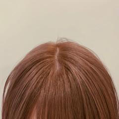 ハイトーン ショートボブ ナチュラル ボブ ヘアスタイルや髪型の写真・画像