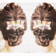 ゆるふわ 外国人風 ヘアアレンジ 簡単ヘアアレンジ ヘアスタイルや髪型の写真・画像