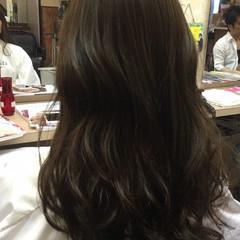 フェミニン ストリート 外国人風 ロング ヘアスタイルや髪型の写真・画像
