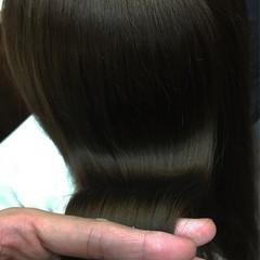ロング アッシュ 外国人風 ナチュラル ヘアスタイルや髪型の写真・画像