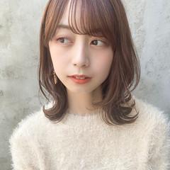 縮毛矯正 ナチュラル ヘアアレンジ 縮毛矯正ストカール ヘアスタイルや髪型の写真・画像