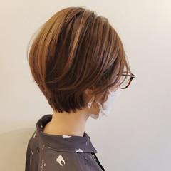 ショートヘア ハンサムショート 小顔ショート 大人ショート ヘアスタイルや髪型の写真・画像
