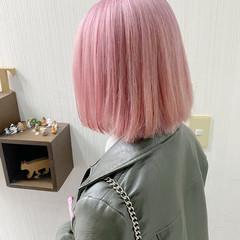 透明感カラー アッシュ ダブルカラー デート ヘアスタイルや髪型の写真・画像