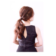 大人女子 フェミニン 大人かわいい 波ウェーブ ヘアスタイルや髪型の写真・画像