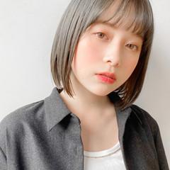 髪質改善 アンニュイほつれヘア ナチュラル ボブ ヘアスタイルや髪型の写真・画像