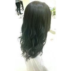 秋 冬 外国人風 ロング ヘアスタイルや髪型の写真・画像
