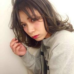 大人かわいい ハイライト 外国人風 グラデーションカラー ヘアスタイルや髪型の写真・画像