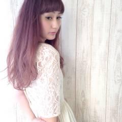 パンク グラデーションカラー ストリート 春 ヘアスタイルや髪型の写真・画像