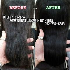 守山区 名古屋市 エレガント トリートメント ヘアスタイルや髪型の写真・画像
