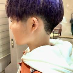 ベリーショート ナチュラル ブリーチカラー 小顔ショート ヘアスタイルや髪型の写真・画像