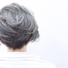 ストレート 外国人風 ハイライト ストリート ヘアスタイルや髪型の写真・画像