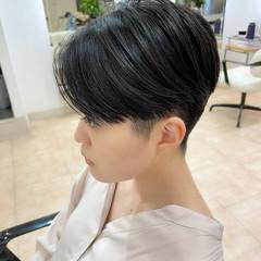 ベリーショート ハンサムショート ショートヘア ツーブロック ヘアスタイルや髪型の写真・画像