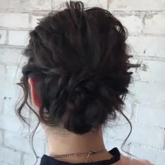 フェミニン ロング 結婚式 ゆるふわ ヘアスタイルや髪型の写真・画像