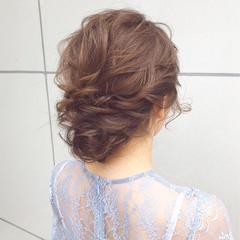 アンニュイほつれヘア デート ナチュラル ヘアアレンジ ヘアスタイルや髪型の写真・画像