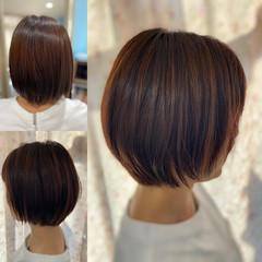 髪質改善トリートメント ガーリー 縮毛矯正 ショート ヘアスタイルや髪型の写真・画像
