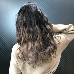 外国人風カラー ロング ハイライト 成人式 ヘアスタイルや髪型の写真・画像