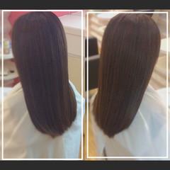髪質改善カラー 髪質改善トリートメント 艶髪 社会人の味方 ヘアスタイルや髪型の写真・画像