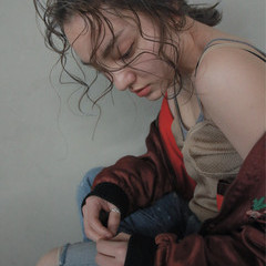 ウェットヘア アンニュイ ウェーブ ヘアアレンジ ヘアスタイルや髪型の写真・画像