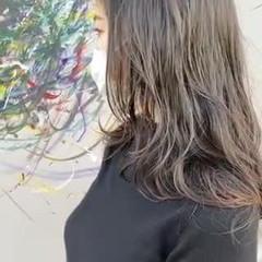 ゆるふわ 抜け感 レイヤーカット デジタルパーマ ヘアスタイルや髪型の写真・画像