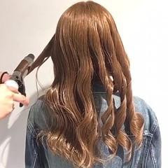 ゆるふわ エレガント バレンタイン ロング ヘアスタイルや髪型の写真・画像