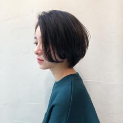 デート ナチュラル 簡単ヘアアレンジ ボブ ヘアスタイルや髪型の写真・画像