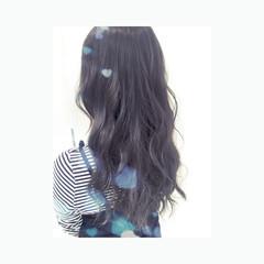 暗髪 ブルージュ イルミナカラー 外国人風 ヘアスタイルや髪型の写真・画像