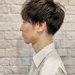 刈り上げ メンズショート メンズ メンズスタイル ヘアスタイルや髪型の写真・画像