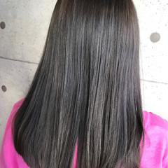 ブルージュ 暗髪 透明感 ストリート ヘアスタイルや髪型の写真・画像