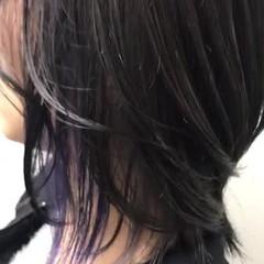 モード ミディアム 外国人風カラー ウルフカット ヘアスタイルや髪型の写真・画像