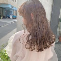 フェミニン デート かわいい ロング ヘアスタイルや髪型の写真・画像