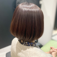 ナチュラル 大人かわいい 似合わせカット 髪質改善トリートメント ヘアスタイルや髪型の写真・画像