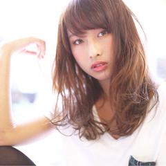 ゆるふわ 春 大人かわいい 外国人風 ヘアスタイルや髪型の写真・画像