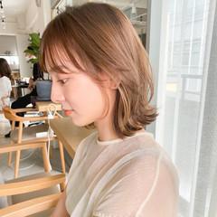 大人かわいい アンニュイほつれヘア デート ミディアム ヘアスタイルや髪型の写真・画像