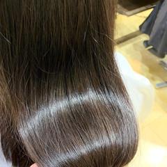 髪質改善トリートメント ロング ナチュラル トリートメント ヘアスタイルや髪型の写真・画像