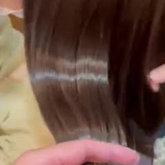 髪質改善トリートメント ロング ナチュラル 艶髪 ヘアスタイルや髪型の写真・画像