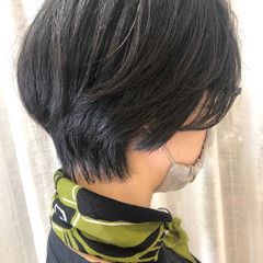 大人ショート ショート ショートヘア ハンサムショート ヘアスタイルや髪型の写真・画像