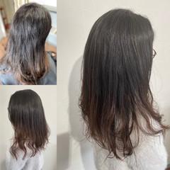 360度どこからみても綺麗なロングヘア ロングヘア エレガント クールロング ヘアスタイルや髪型の写真・画像
