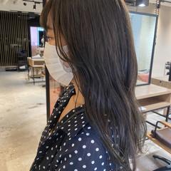 パーマ デジタルパーマ ミディアム ベージュ ヘアスタイルや髪型の写真・画像