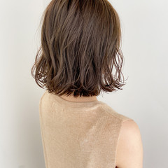 大人可愛い ボブ ゆるふわパーマ デジタルパーマ ヘアスタイルや髪型の写真・画像
