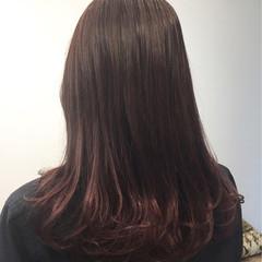 グラデーションカラー ラベンダー 外国人風カラー ナチュラル ヘアスタイルや髪型の写真・画像