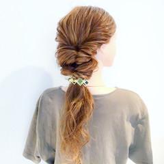 ロング エレガント オフィス 上品 ヘアスタイルや髪型の写真・画像