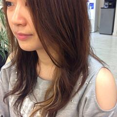 かっこいい ロング ハイライト ゆるふわ ヘアスタイルや髪型の写真・画像