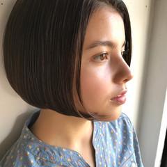 大人かわいい ボブ ニュアンス モード ヘアスタイルや髪型の写真・画像